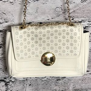 Lulu by Lulu Guinness Cream Brown Purse